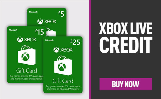 Xbox Live Credit -  Buy Now at GAME.co.uk!