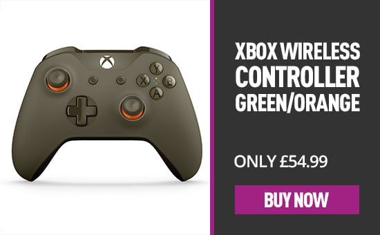 Xbox One Wireless Controller - Green Orange for Xbox One - Buy Now at GAME.co.uk
