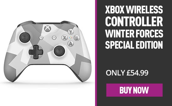 Xbox One Wireless Controller - Winter Forces Special Edition Xbox One - Buy Now at GAME.co.uk