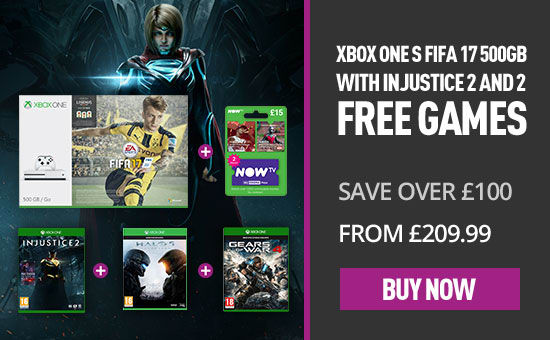 Xbox One Injustice 2 Bundle offer at Game.co.uk