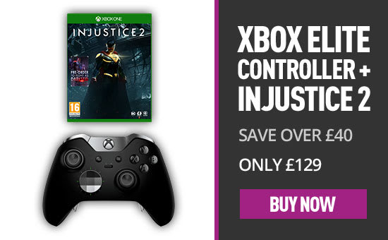 Xbox Elite Wireless Controller - with Injustice 2