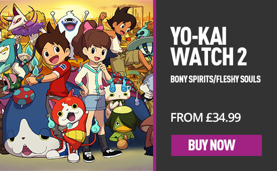 YO-KAI Watch 2 for Nintendo 3DS - Pre-order Now at GAME.co.uk!