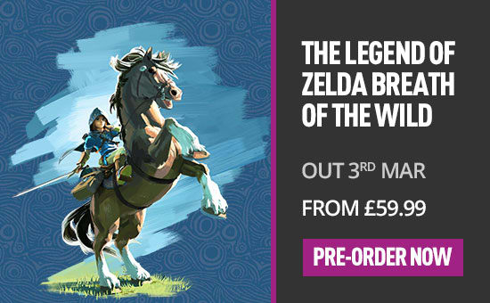 The Legend of Zelda Breath of the Wild on Nintendo Wii U- Pre-order Now at GAME.co.uk