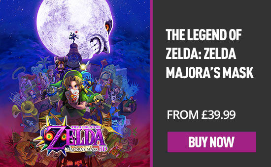 The Legend of Zelda Majora's Mask for Nintendo eShop - Download Now at GAME.co.uk!