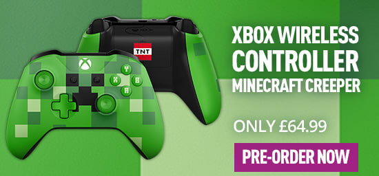Xbox One Official Wireless Controller: Minecraft Creeper
