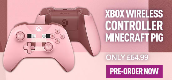 Xbox One Official Wireless Controller: Minecraft Pig