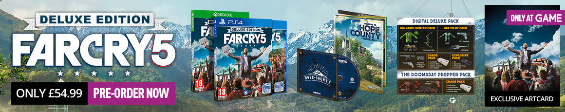 Far Cry 5 for PlayStation 4 and Xbox One - Buy Now at GAME.co.uk