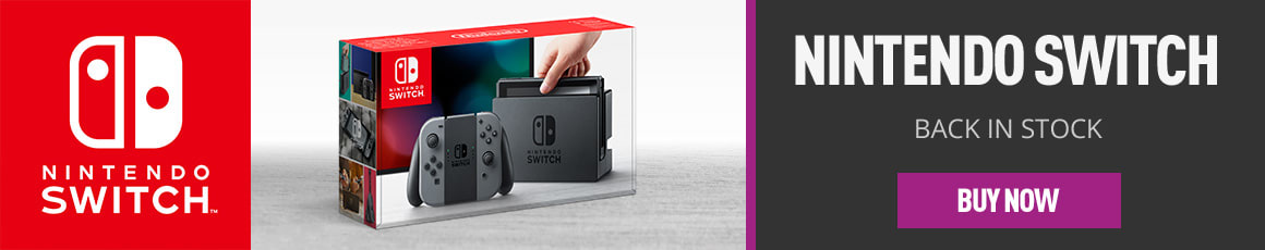 Nintendo Switch Gray Now Back in Stock - Buy Now at GAME.co.uk