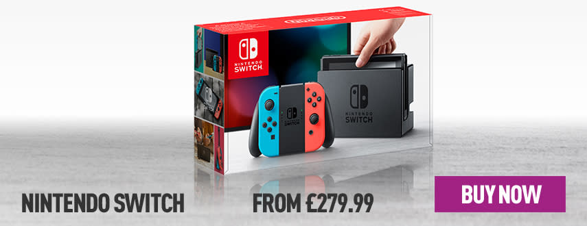 Nintendo Switch: Back in Stock! - Homepage eSpot