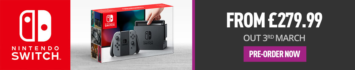 Nintendo Switch, Watch The Presentation - Pre-order Now at GAME.co.uk