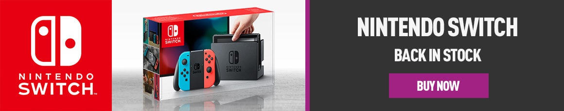 Nintendo Switch - Back in Stock - Homepage eSpot
