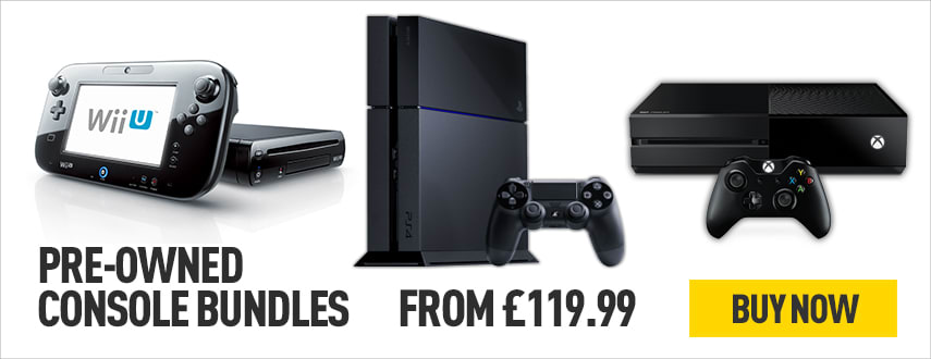 Pre-owned Console Bundles - Homepage eSpot
