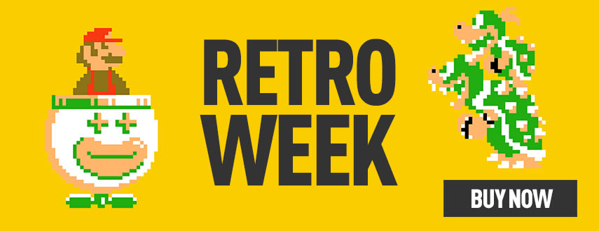 Retro Week at GAME.co.uk - Homepage Banner