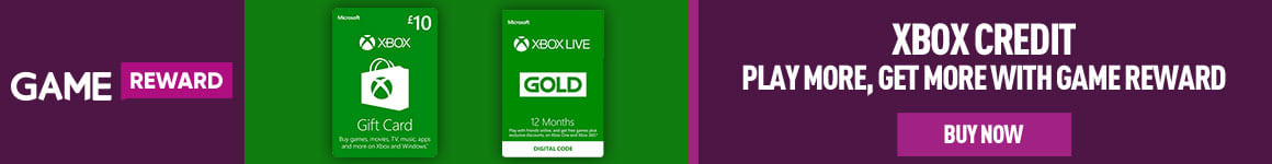 Earn Game Reward Points when you purchase Xbox Live Credit & Subscriptions- Buy Now at GAME.co.uk