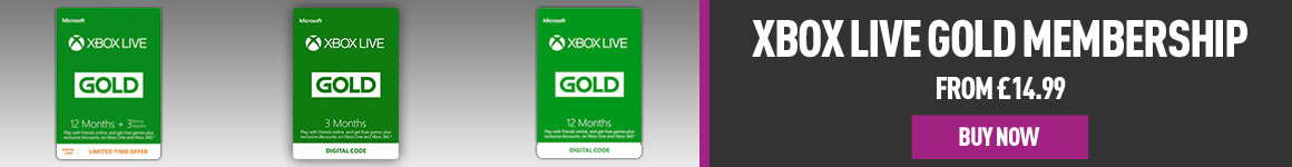3 Month Xbox Live with free £5 Credit - Buy Now at GAME.co.uk