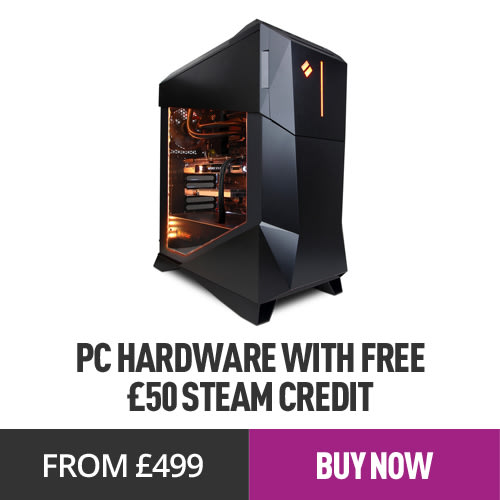 £50 Steam Credit with Select PC Gaming Hardware from £499.99 - GAME.co.uk