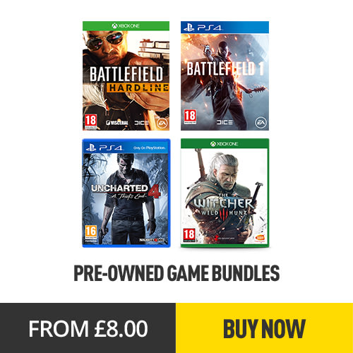 Pre-Owned Gaming Bundles from £8 - GAME.co.uk