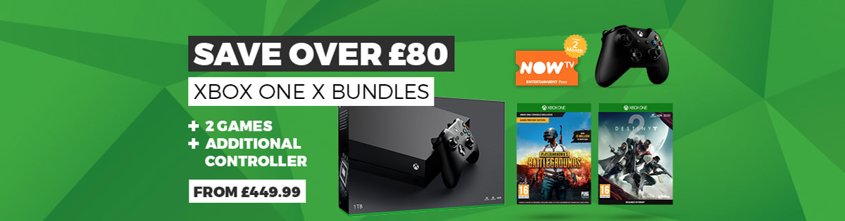 Xbox One X Bundles from £449.99 - Buy Now at GAME.co.uk
