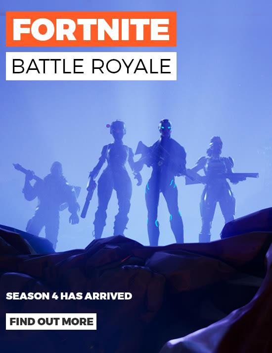 Fortnite Battle Royale - Be the Last Person Standing  - Find out More