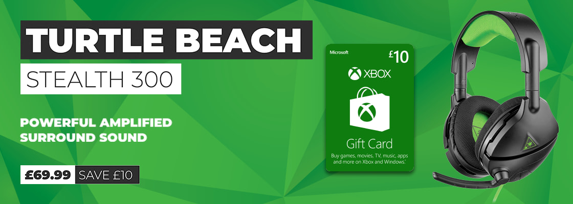 Turtle Beach Stealth 300 with £10 Xbox Live Credit - Buy Now