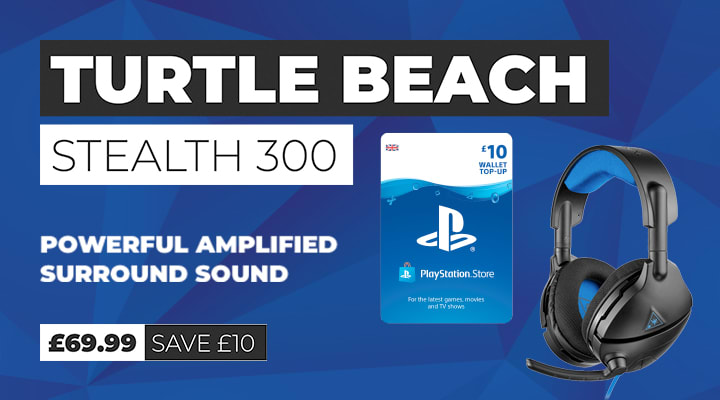 Turtle Beach Stealth 300 Gaming Headset for PS4