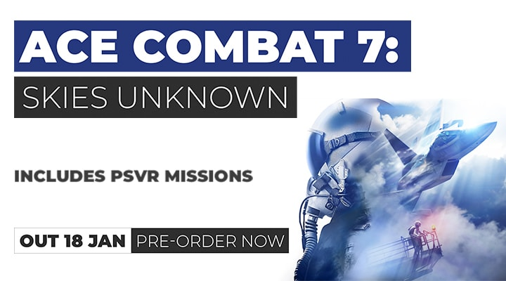 Ace Combat 7 - Pre-Order on PS4
