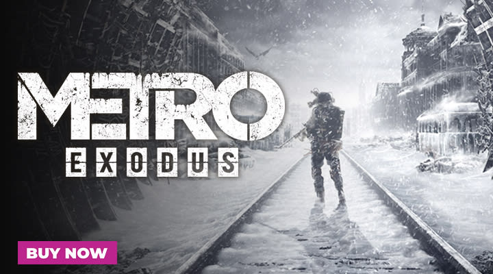 Metro Exodus Out Now at GAME