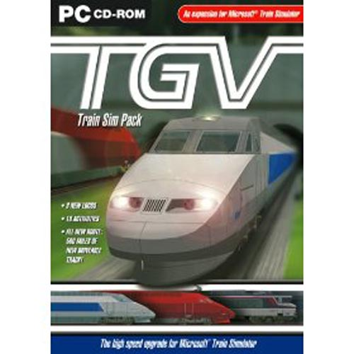 Microsoft Train Simulator - Dodatek TGV[PC]