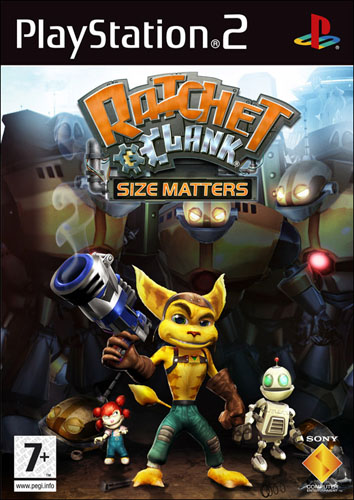 Ratchet & Clank: Size Matters ~ PS2 Game-Rip