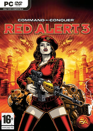 Command & Conquer Red Alert 3 Uprising pc game