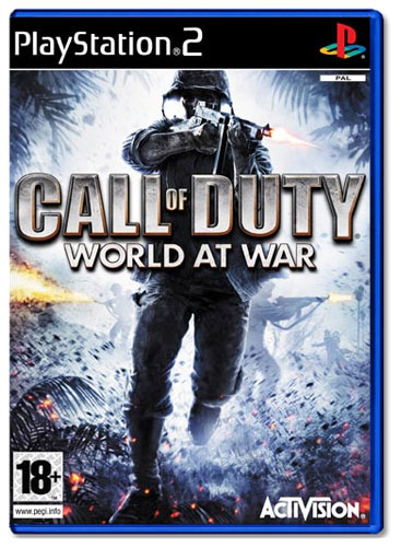 Call Of Duty World At War [PS2]