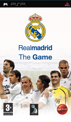 Real Madrid The Game EUR PROPER PSP-iND
