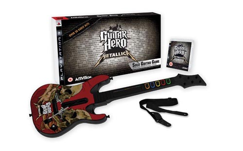 Guitar Hero: Metallica (Guitar Bundle) (PlayStation 3)