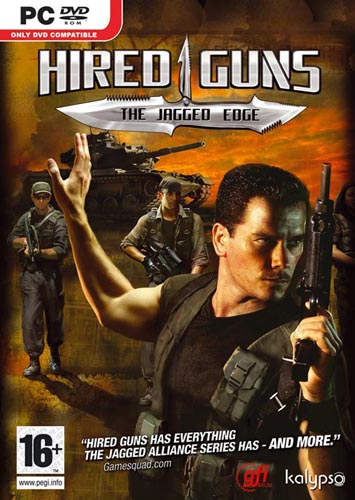 Hired Guns - The Jagged Edge (PC Games)