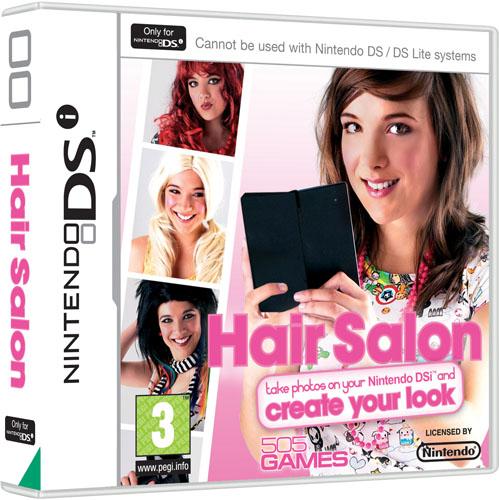 DSi Only Game! Hair Salon! - Nintendo DS, DSi & DSiWare