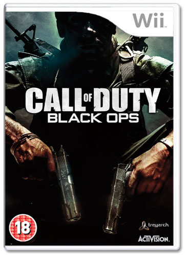Black Ops Cover Pc. Call of Duty: Black Ops (Wii)