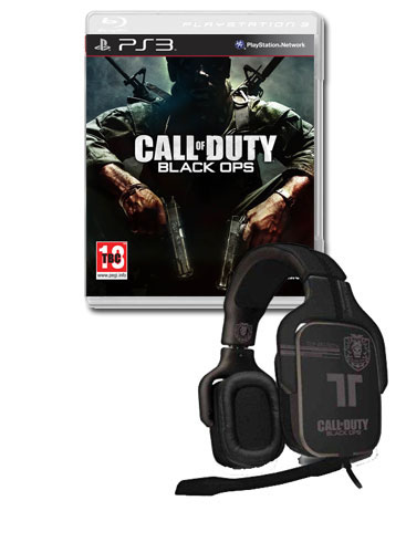 Ops with Call of Duty: Black Ops Dolby Surround Gaming Headset (PS3)