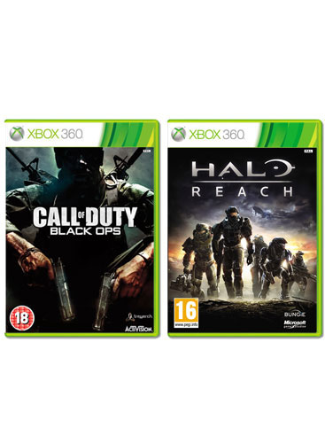 Black Ops Vs Halo Reach. Black Ops with Halo: Reach