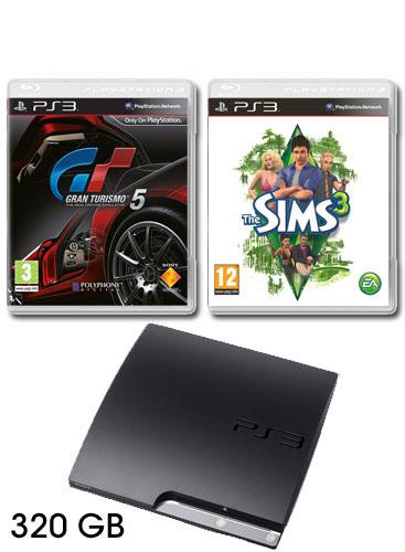 ps3 slim 320gb. Sony PlayStation 3 320GB PS3
