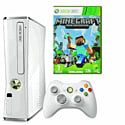 Xbox 360 4GB Console - White with Minecraft