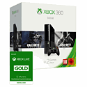 Xbox 360 500GB with Call of Duty Black Ops II, Call of Duty Ghosts & 12 Month Xbox Live Gold Membership