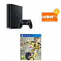 PlayStation 4 500GB with FIFA 17 and NOW TV 3 Month Entertainment Pass