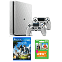 Playstation 4 500GB Limited Edition Silver Console with Horizon Zero Dawn and NOW TV 3 Month Entertainment Pass