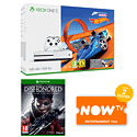 Xbox One S 500GB Forza Horizon 3 Hot Wheels Bundle with Dishonored: Death of the Outsider