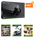 Xbox One X with Forza 7 + GTA V + Overwatch GOTY and NOW TV 2 Month Entertainment Pass