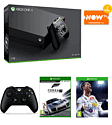 Xbox One X with Forza 7 + FIFA 18 + Official Xbox One Black Controller and NOW TV 2 Month Entertainment Pass