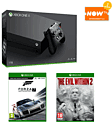 Xbox One X with Forza Motorsport 7 + The Evil Within 2 and NOW TV 2 Month Entertainment Pass