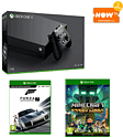 Xbox One X with Forza Motorsport 7 + Minecraft: Story Mode 2 and NOW TV 2 Month Entertainment Pass
