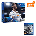 PlayStation 4 500GB FIFA 18 Console with Second DualShock 4 Controller, Destiny 2 and NOW TV 2 Month Entertainment Pass