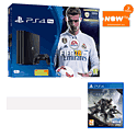 PlayStation Pro 1TB FIFA 18 with Destiny 2 and NOW TV 2 Month Entertainment Pass